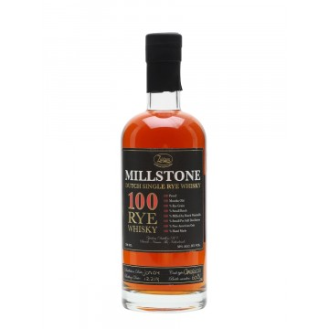 Millstone Dutch Rye 100 Whisy Whisky Zuidam Distillers