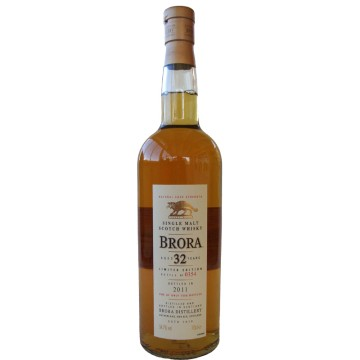 Brora 10th Release 32 Years Old 1978 2011 Limited Edition 54.7% Brora Brora 10th Release 32 Y