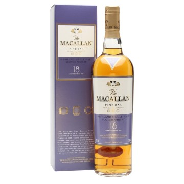 The Macallan Fine Oak 18 Years Old Highland Single Maltwhisky
